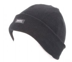 Thermal Thinsulate Fleece Lined Beanie Ski Hat Mens winter hat